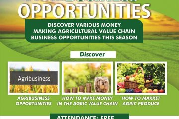 AGRIBUSINESS OPPORTUNITY